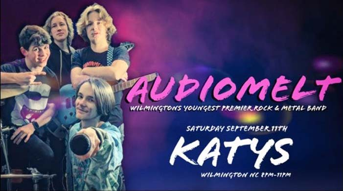 Audiomelt is rocking the house Saturday